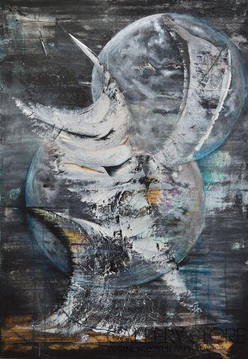 Martyna Wójcik-Księżyce-Akryl