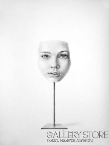 Mateusz Kaczmarczyk-Maska-Rysunek
