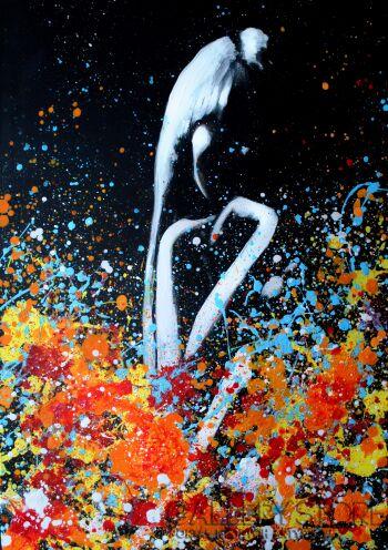 Milena Chmielewska-Bliss- wydruk artystyczny obrazu-Giclee