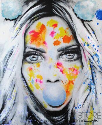 Milena Chmielewska-Bubble gum-Akryl