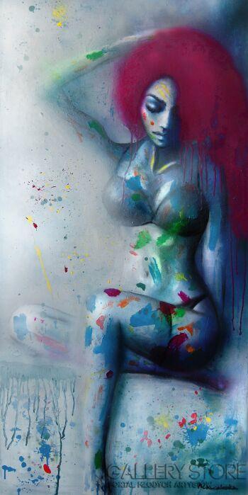 Milena Chmielewska-Lekcja kolorów-Olej