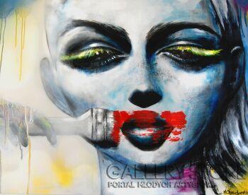 Milena Chmielewska-Make up-Akryl