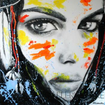 Milena Chmielewska-She is the color XXV-Akryl
