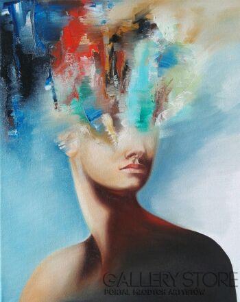 Monika Łakomska-Tysiące myśli tysiące słów-Olej
