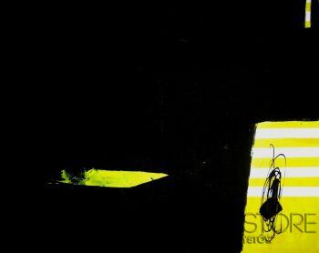 Monika Winnicka-The yellow bird-Akryl