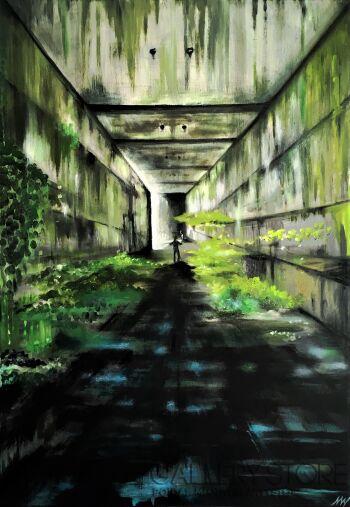 Monika Wojtyła-Zachowanie Architektury: III: Witaj w dżungli-Technika mieszana