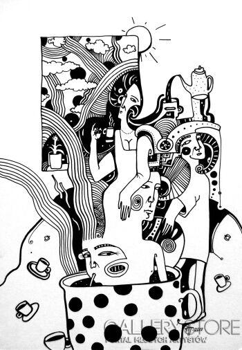 Natalia Pastuszenko-Kawowe poranki-3-Rysunek