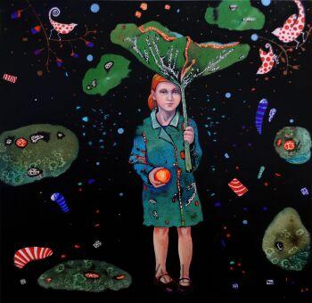 Natalia Pastuszenko-Parasol-Akryl