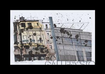 Natalia Rozmus-Dekonstruując Berlin /seria-Rysunek