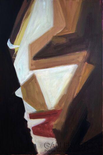 Nikola Fedak-Moja twarz, moja maska-Akryl