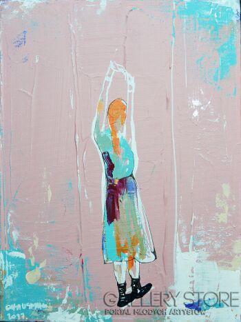 Olga  Hausmann-01Róż-Akryl