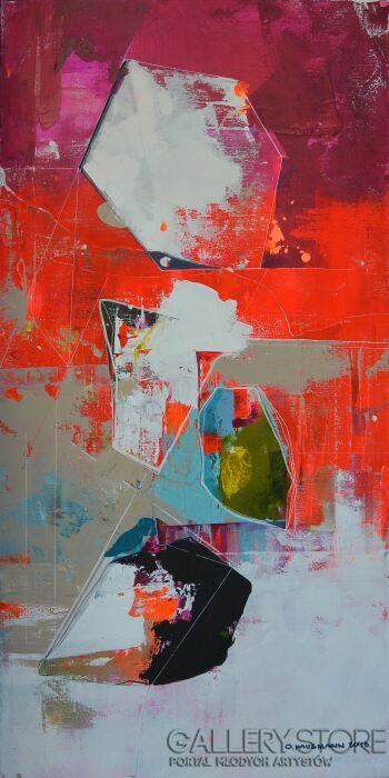 Olga  Hausmann-02Cząstki-Akryl