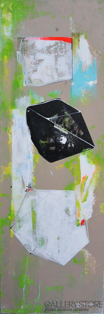 Olga  Hausmann-03Cząstki-Akryl