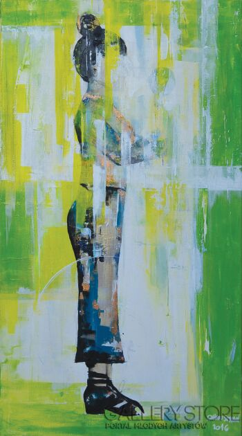 Olga  Hausmann-POZA 2/3-Akryl