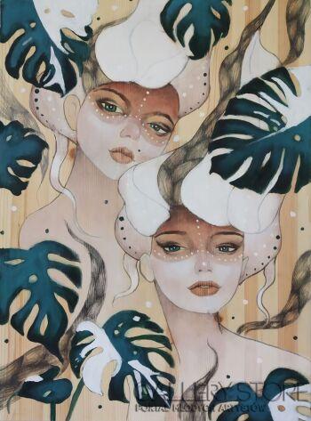 Patrycja Prószyńska-Panny Monstery-Akryl