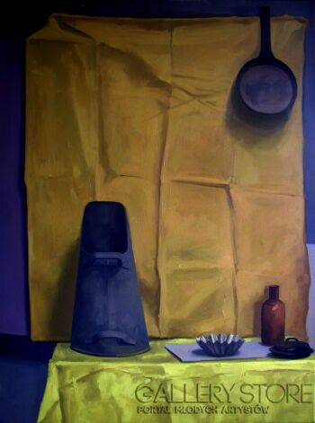 Patrycja Wojtanowska-Żółta martwa natura-Olej