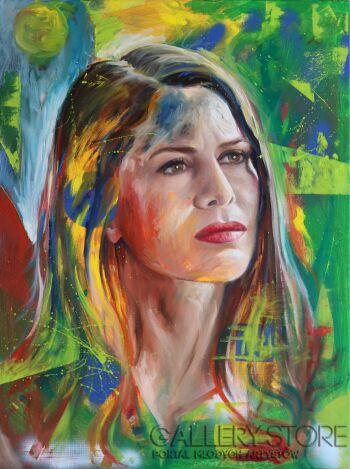 Paulina Mackiewicz-Woman 0.2-Technika mieszana