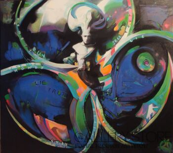 Piotr  Gola-Inside the toxic wheel-Olej