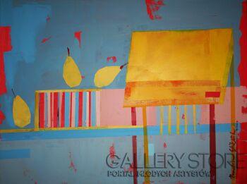 Pracownia Aquarelle Klaudia Pawelec-Gliklich-Obok stołu -Akryl
