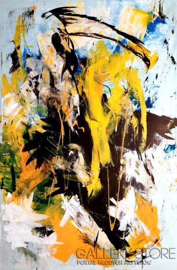 Przemysław Michalczuk-abstrakcja 10-Akryl
