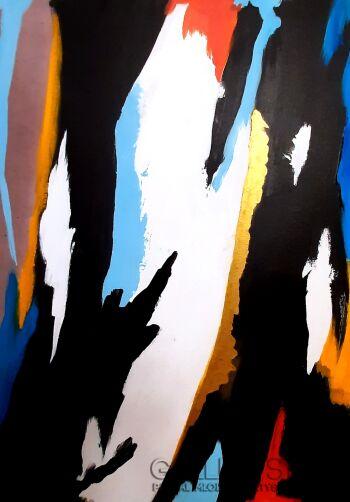 Przemysław Michalczuk-abstrakcja 17 -Akryl
