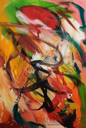 Przemysław Michalczuk-abstrakcja 36-Akryl