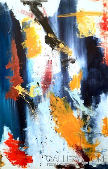 Przemysław Michalczuk-abstrakcja 47-Akryl