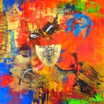 Przemysław Michalczuk-abstrakcja 55-Akryl
