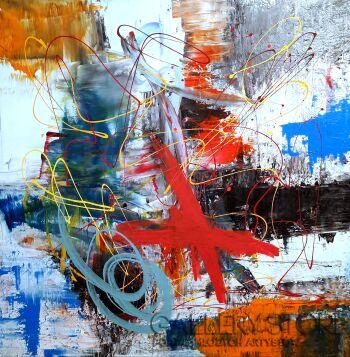 Przemysław Michalczuk-abstrakcja 63-Akryl