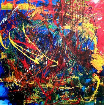 Przemysław Michalczuk-abstrakcja 65 -Akryl