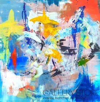 Przemysław Michalczuk-abstrakcja 69-Akryl