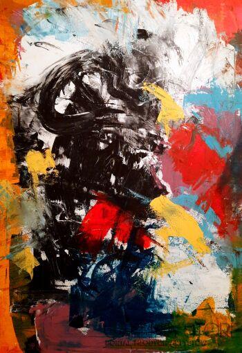 Przemysław Michalczuk-abstrakcja 71-Akryl