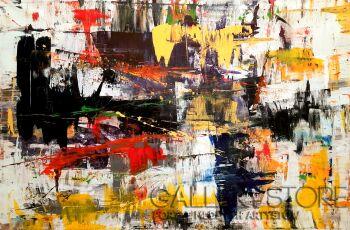 Przemysław Michalczuk-abstrakcja 78-Akryl