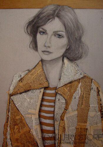 Renata Magda-Elster -Rysunek