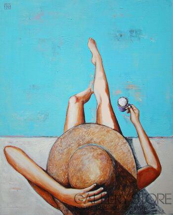Renata Magda-Floating thoughts...-Olej