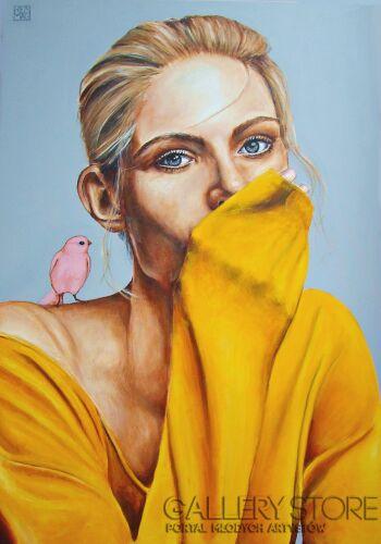 Renata Magda-Hidden words...-Olej