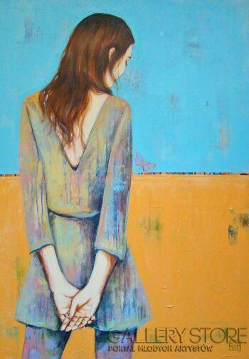 Renata Magda-let fly ...-Akryl