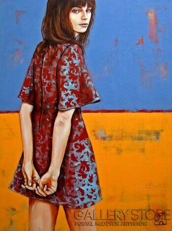 Renata Magda-ostatnie spojrzenie na ...-Akryl