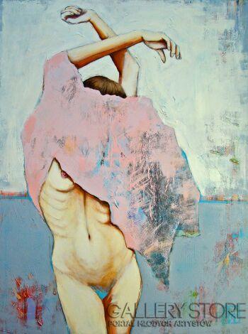 Renata Magda-pink dress-Akryl