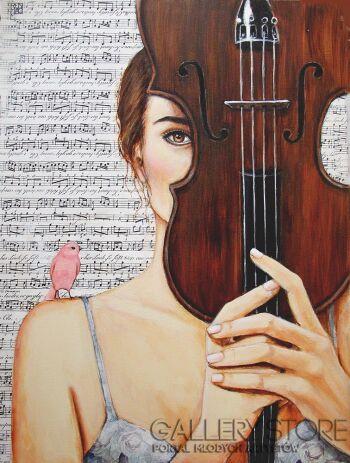 Renata Magda-Ulotna melodia -Akryl