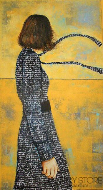 Renata Magda-wędrujące myśli -Olej