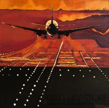 Romuald Mulk Musiolik-Lądowanie w Kolumbii-Olej