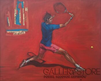Romuald Mulk Musiolik-Tenis 2-Olej