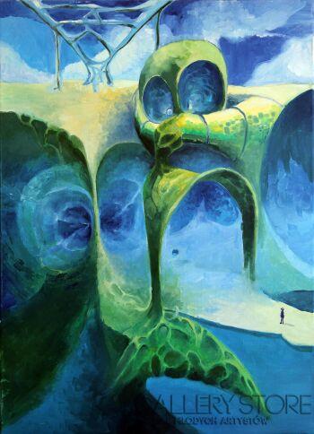 Sewer Niedzwiecki-Harmonia wody-Giclee