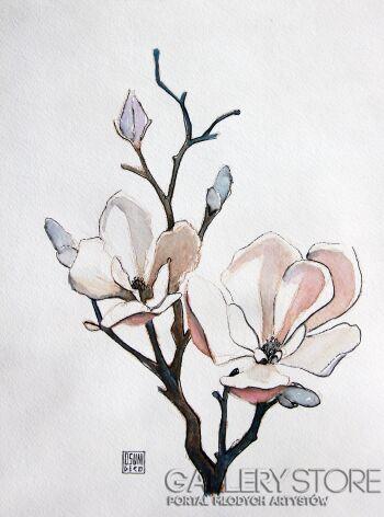 Sewer Niedzwiecki-Magnolia-Giclee