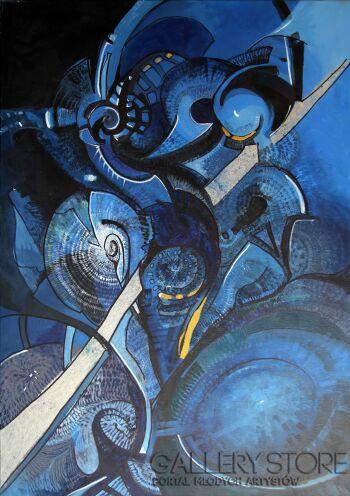 Sewer Niedzwiecki-Międzyplanetarny-Akryl