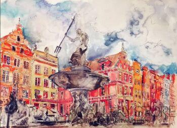 Sylwia Dubikowska-Gdańsk -Akwarela