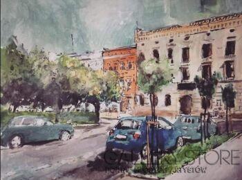 Sylwia Dubikowska-ulica-Akwarela
