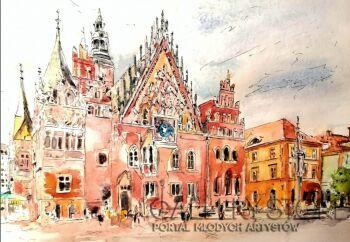 Sylwia Dubikowska-Wrocław-Akwarela