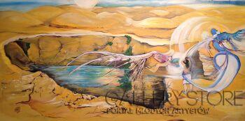 Sylwia Mirowska-w każdym z nas jest pustynia-Olej
